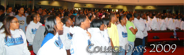 College Days Welcomes Over 700