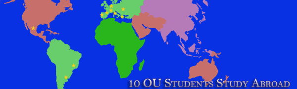 OU Students Study Abroad