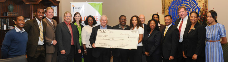 TASC-Contributes-Major-Gift-To-UNCF-North-Alabama-Joint-Campaign