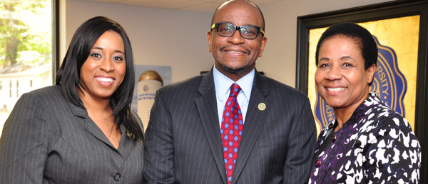 OU-Advancement--Development-director-Kisha-Norris-with-OU-President-and-First-Lady-Drs-Leslie-and-Prudence-Pollard